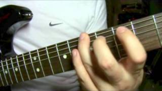 BIG GUN AC/DC guitar lesson