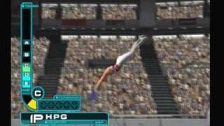 ESPN Track n Field: Horizontal Bar