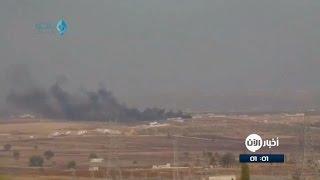 المعارضة المسلحة تعلن إسقاط طائرة روسية بريف حلب