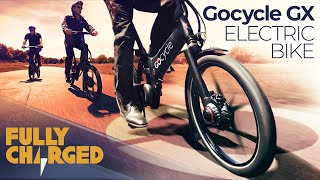 Gocycle GX fast-folding electric bike - Robert Llewellyn's Gocycle review | Fully Charged