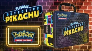 Opening 4x Pokémon TCG: Detective Pikachu Collector Chests
