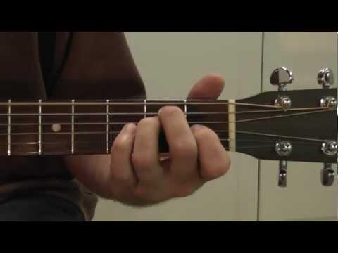 Basic Guitar Chords - E, A, B7