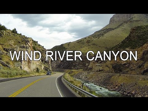 WIND RIVER CANYON Scenic Byway   Wyoming   USA