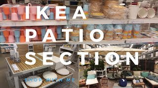 Ikea Store Patio Furniture  Shop With Me!!