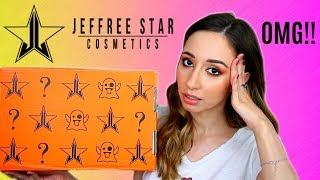 Jeffree Star Deluxe Mystery Box Unboxing - Halloween 2019 (A broken mess??)