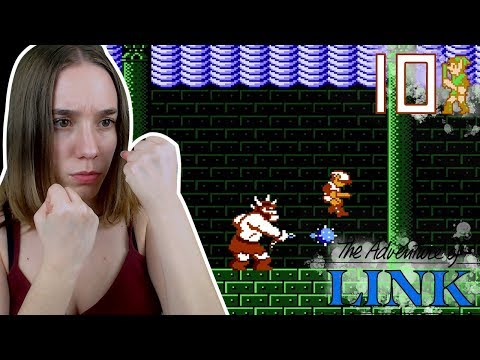 EL LABERINTO DE TEMPLO: The Legend of Zelda 2 (NES) The Adventure of Link Ep 10
