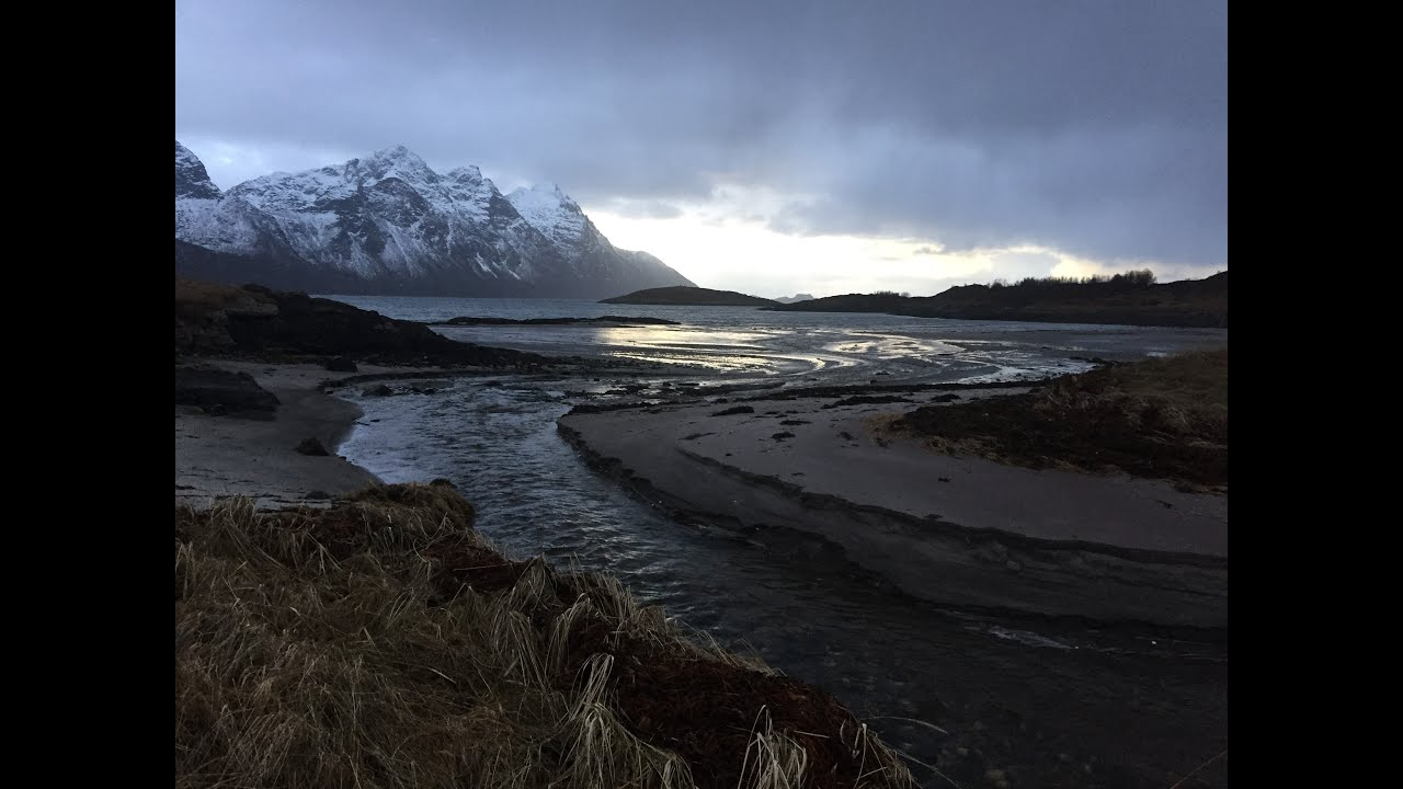 Relax and take a slow midnight walk on Breivik beach in Steigen, Northern Norway. Slow TV