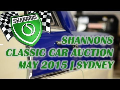 Shannons Classic Car Auction | Viewing Weekend | Sydney | May 2015