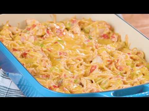 Chicken Spaghetti Casserole   Southern Living