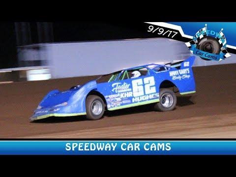 #62 Jessie Hughes - Sportsman - 9-9-17 Fort Payne Motor Speedway - In Car Camera
