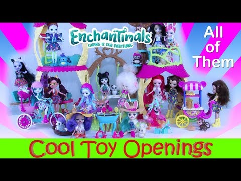 EnchanTimals All of Them Toy Opening