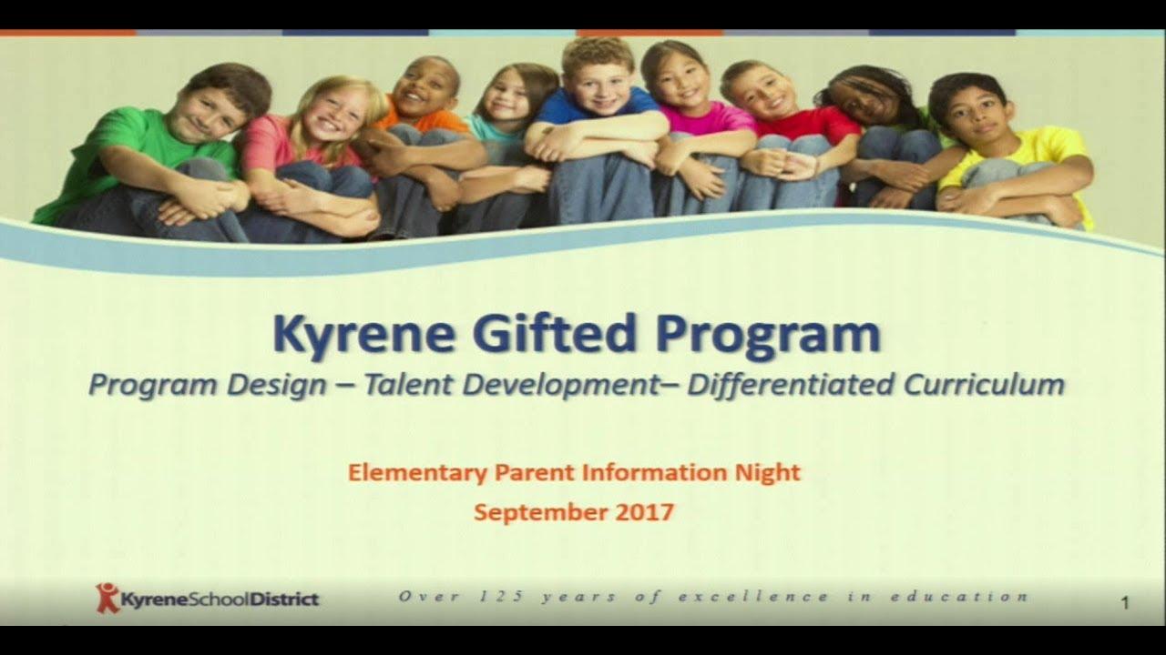 Kyrene Gifted Programs - Elementary