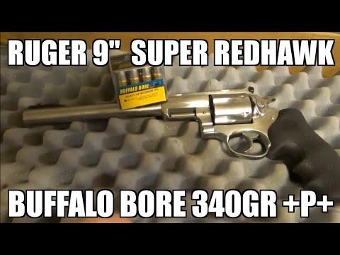 Buffalo Bore  44 Magnum 340 gr +P+ 9 Inch Barrel Ruger Super Redhawk