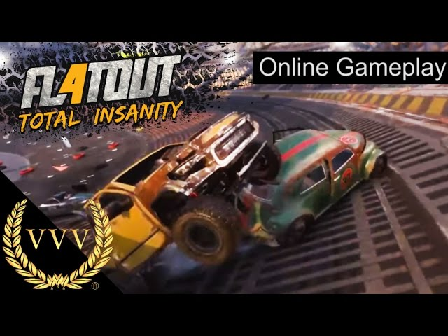 Flatout 4: Total Insanity Online Gameplay