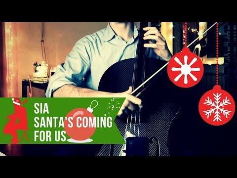 Sia - Santa's Coming for Us for cello (COVER)
