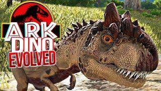 ARK Dino Evolved - Bebê Allosaurus, Aprendendo a Caçar! | Dinossauros (#5) (PT-BR)