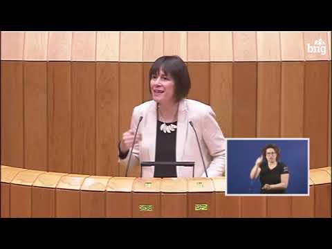"""Ana Pontón: """"Os orzamentos que aprobou o PP están desfasados"""""""