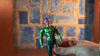 фигурка Зелёного фонаря Синестро. Movie Masters