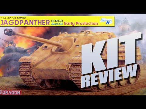 Kit Review: Dragon 6458 Jagdpanther G1 Early Production 1/35