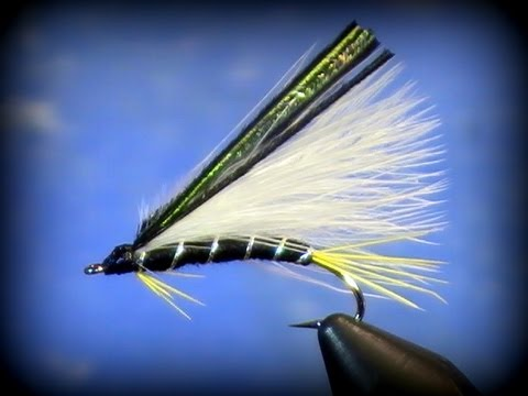 two minute fly tying black ghost streamer youtube