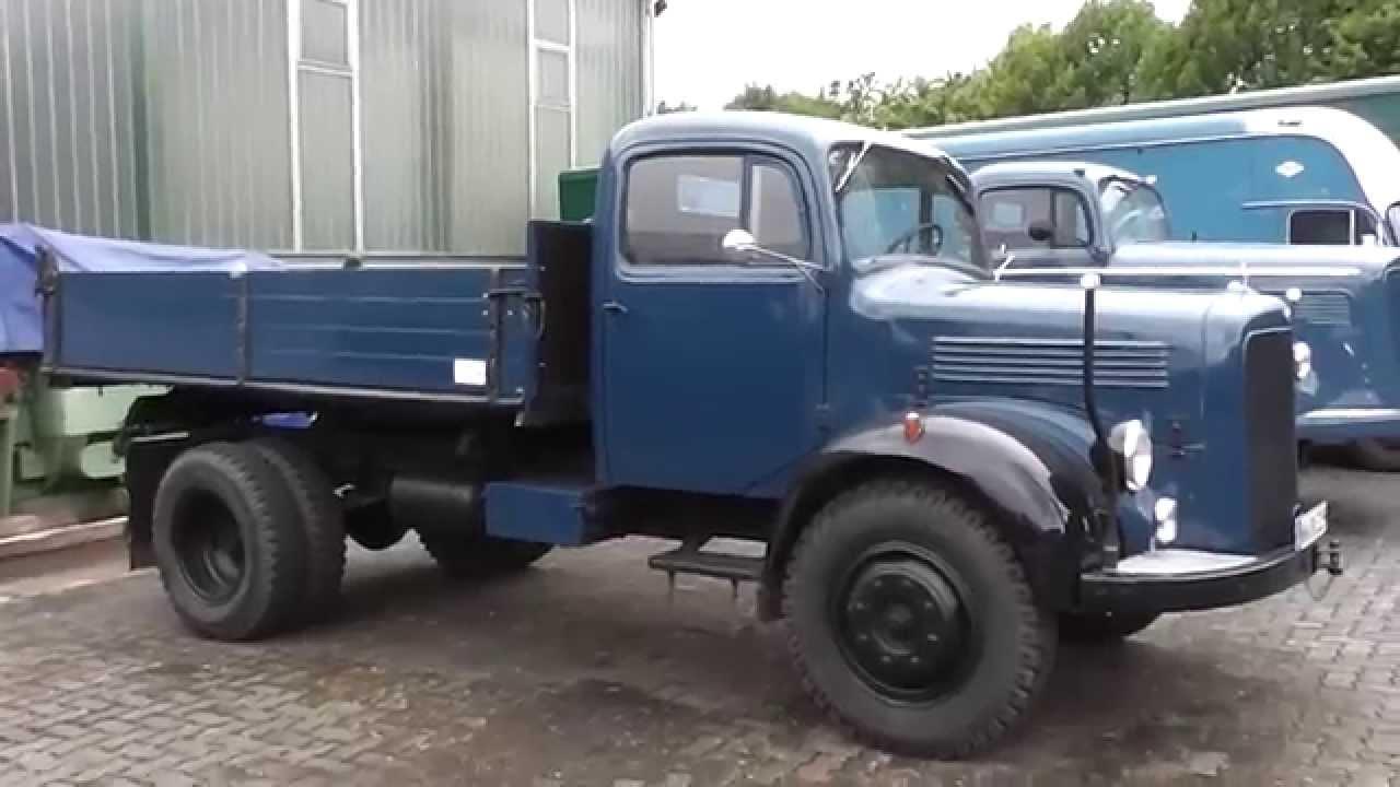 Old mercedes benz langhauber truck youtube for Old mercedes benz trucks