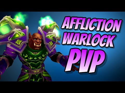 Affliction Warlock PvP BFA BETA 8.0.1 | Duel & Arena | World of Warcraft Battle for Azeroth
