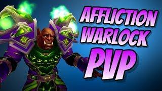 Affliction Warlock PvP BFA BETA 8.0.1   Duel & Arena   World of Warcraft Battle for Azeroth