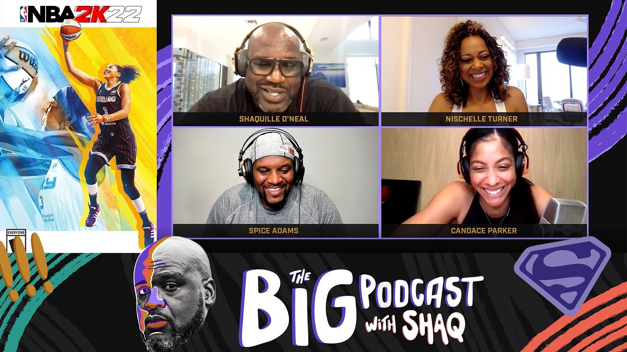 Candace Parker is the First Female NBA 2K Cover Athlete | The Big Podcast