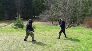 Kenjutsu Sparring with Bokken