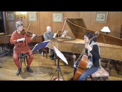Marin Marais, Sonnerie de Ste Geneviève du Mont de Paris for violin, viola da gamba and bc