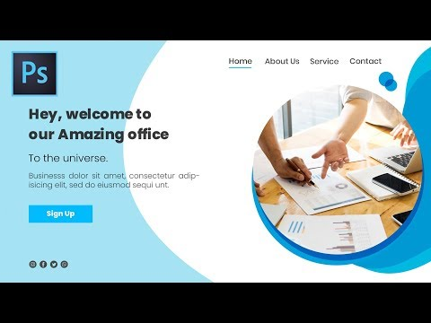Online Banner Template Business Conference I Photoshop Tutorial I Mr Design 1995 thumbnail