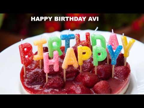Avi  Cakes Pasteles - Happy Birthday