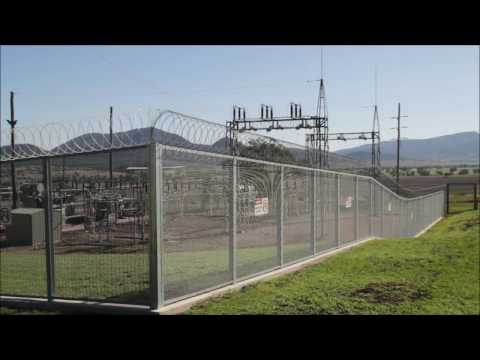 Bluedog GuardForce 358 mesh high security fencing product outline
