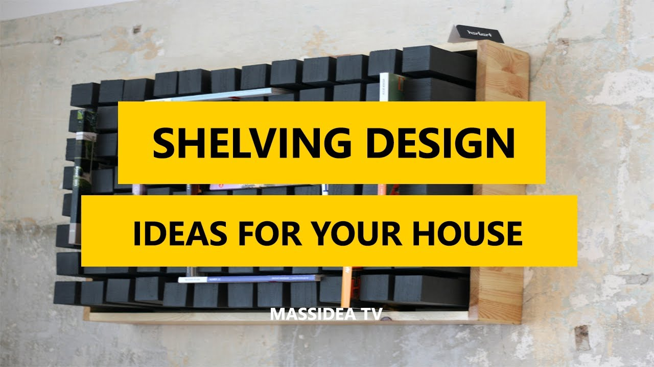 45+ Creative Shelving Design Ideas for Your House 2017 - YouTube