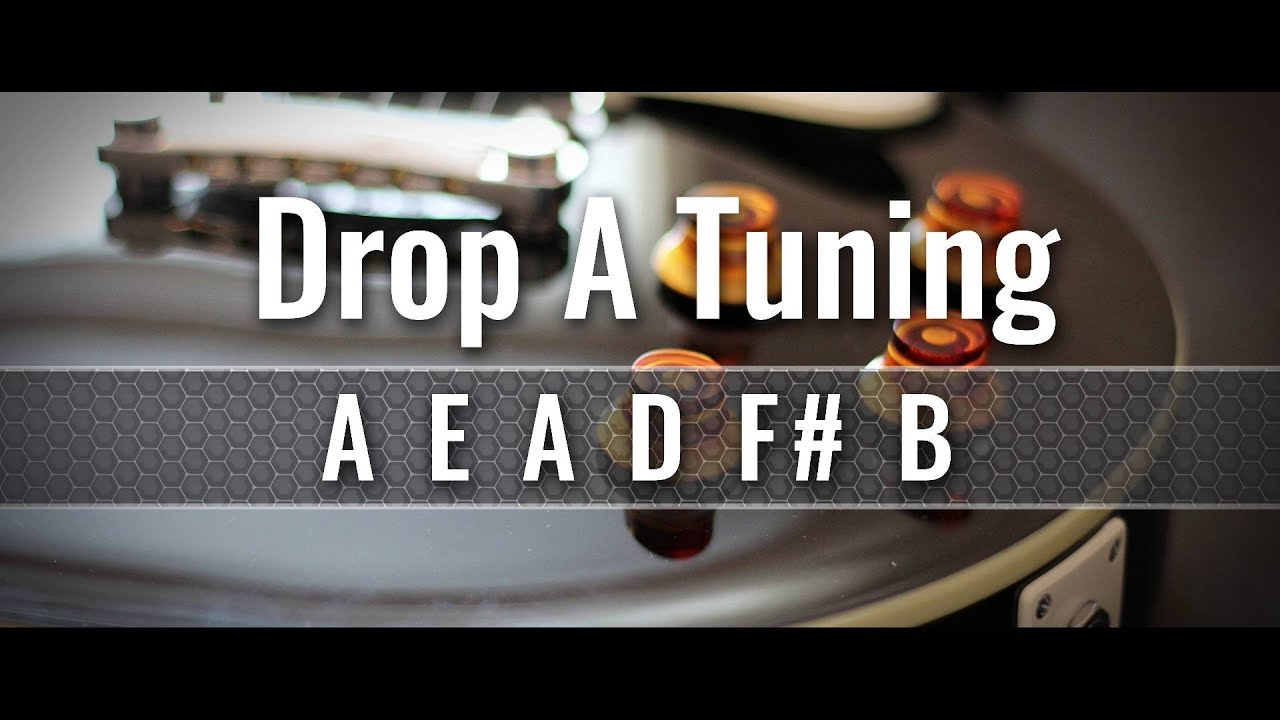 drop a guitar tuner aeadf b youtube. Black Bedroom Furniture Sets. Home Design Ideas