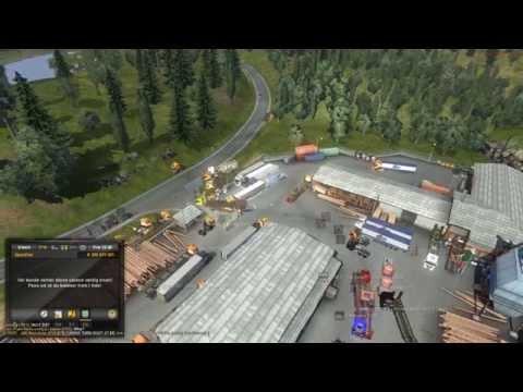 Euro Truck Radio Convoy ¤ Luxembourg (ITCC) - Stuttgart (Tree-et) ¤ Freecam ¤ 3/3 Video