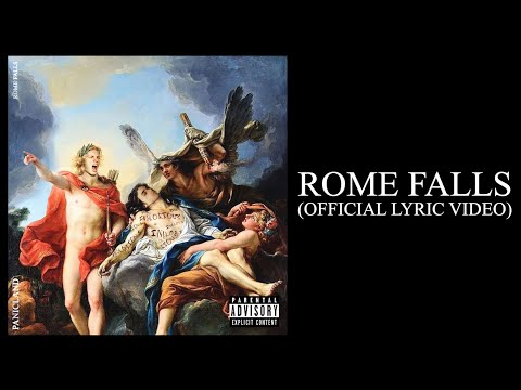 Panicland - ROME FALLS (Official Lyric Video)