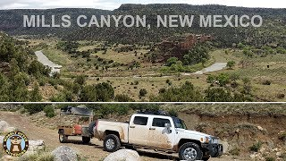Overlanding & Camping Mills Canyon, New Mexico - Part 1
