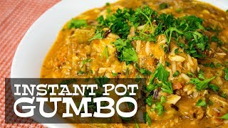 Instant Pot Gumbo | The Starving Chef | Cook With Me