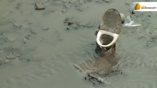 Pêche aux poissons et aux déchets : le canal Saint-Martin fait peau neuve