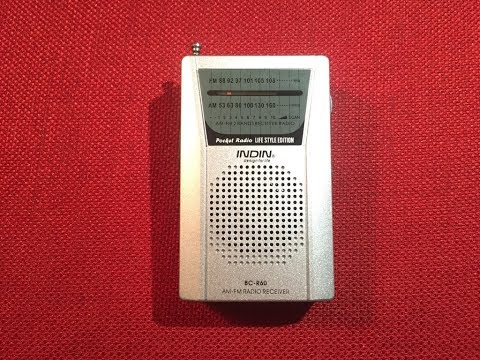 $4 Hero! Indin BC-R60 AM / FM Radio Review