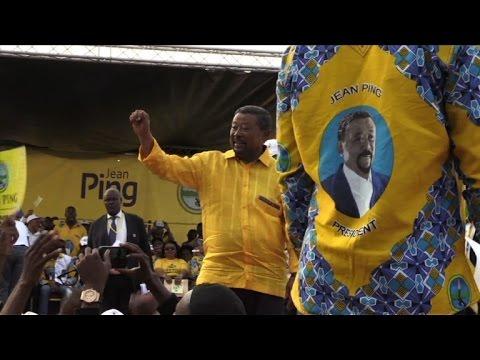 Gabon: dernier meeting de Jean Ping avant la présidentielle