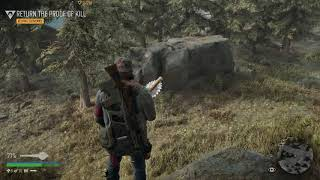 Days Gone - Keeping Souvenirs - Search Runner Cave - Nero Inje…