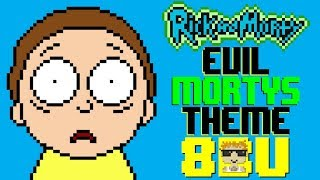 Evil Morty's Theme (For The Damaged Coda) [8 Bit Tribute to Blonde Redhead & Rick and Morty]