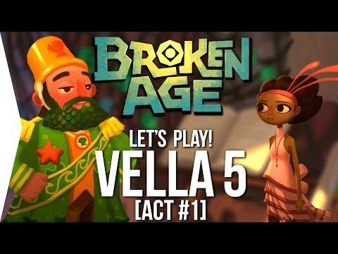 Let's Play Broken Age ► Vella #5 - Shellmound! [Act 1] - Walkthrough/Tutorial
