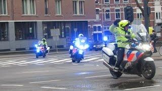 Spoedtransport naar het Erasmus Medisch Centrum  vanaf een incident in Den Haag.
