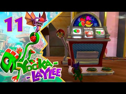Casino Capital I #11 I Yooka- Laylee I Gameplay Español