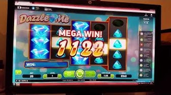NetEnt Dazzle Me Video Slot Online £20 Hits