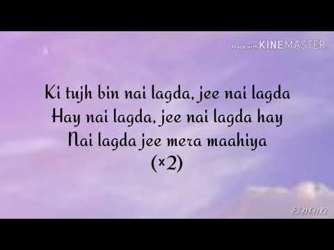 Nai Lagda Lyrics- Notebook|Vishal Mishra|Asees Kaur|Akshay Tripathi