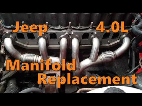 Jeep 4.0L Exhaust Manifold Replacement